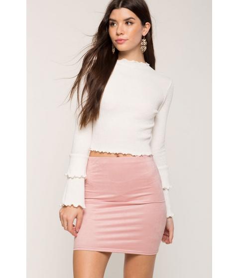 Imbracaminte Femei CheapChic Simply Suede Mini Skirt Blush