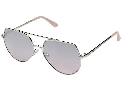 Ochelari Femei GUESS GF6057 Shiny SilverPink Gradient Flash Lens