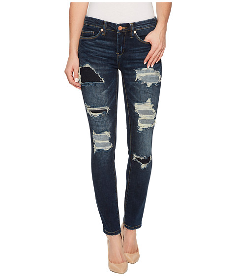 Imbracaminte Femei Blank NYC Cropped Skinny Classique with Mended Rips in Cult Classic Cult Classic