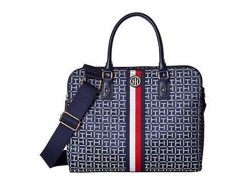 Genti Femei Tommy Hilfiger Agatha II Convertible Tote NavyWhite