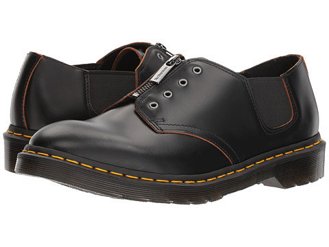 Incaltaminte Barbati Dr Martens 1461 GST Black Vintage Smooth