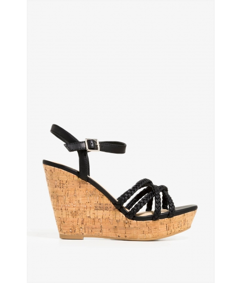 Incaltaminte Femei CheapChic Second Date Wedge Black