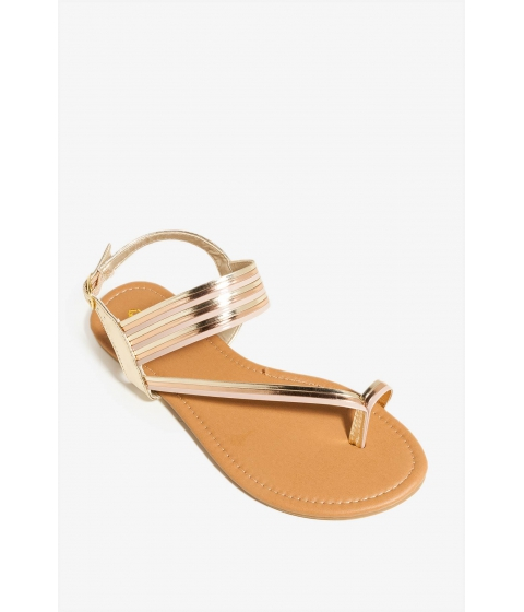 Incaltaminte Femei CheapChic Shine Lives Sandal Metallic Gold