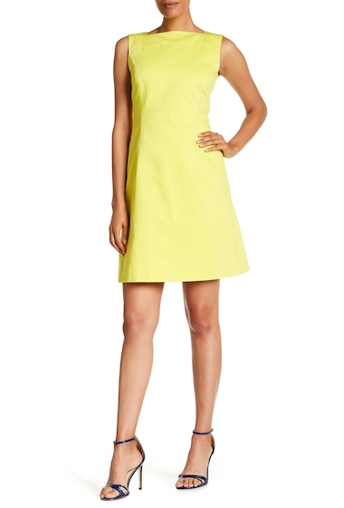 Imbracaminte Femei Lafayette 148 New York Jojo Sleeveless Dress PARROT GREEN