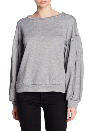 Imbracaminte Femei Ro De Bishop Sleeve Crew Neck Sweater H GREY