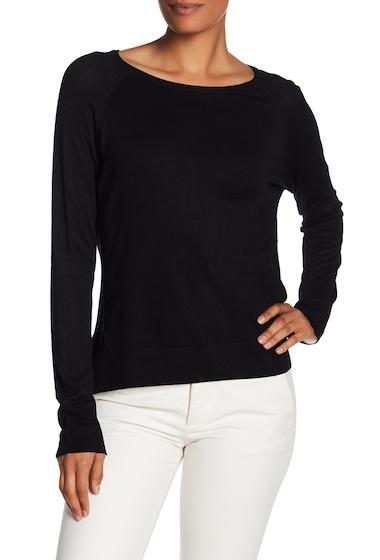 Imbracaminte Femei Philosophy Apparel Long Sleeve Knit Sweater BLACK