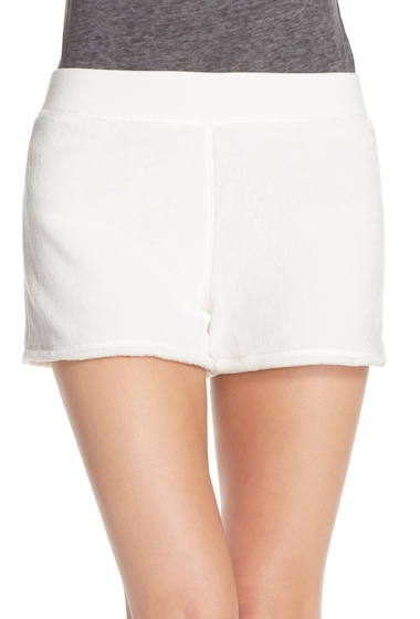 Imbracaminte Femei UGG Kerra Velour Shorts SEAGULL