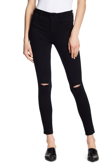 Imbracaminte Femei William Rast Sculpted High Rise Skinny Jeans BLACK