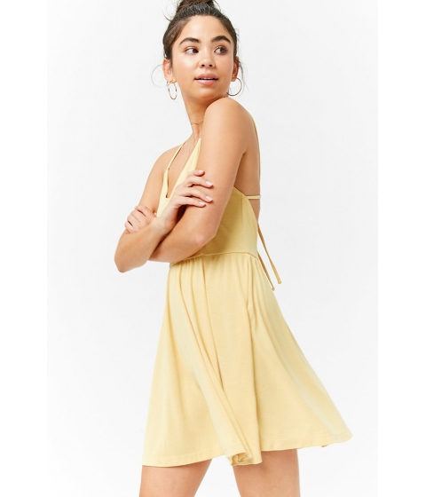 Imbracaminte Femei Forever21 Strappy Cami Dress YELLOW
