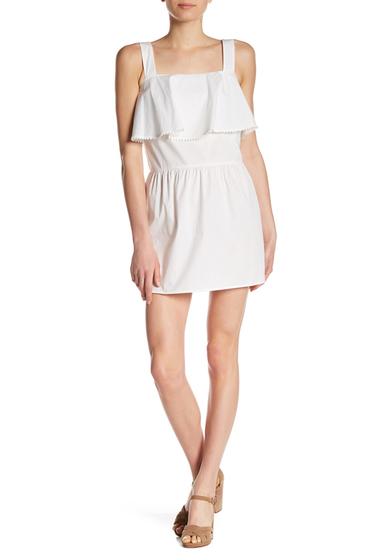 Imbracaminte Femei Rebecca Minkoff Palm Ruffle Popover Minidress WHITE