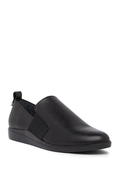 Incaltaminte Femei Calvin Klein Shanin Leather Loafer BLACK