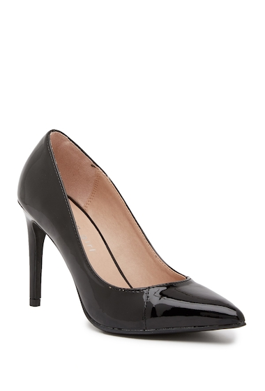 Incaltaminte Femei Madden Girl Elysia Pointed Toe Pump BLK PATENT