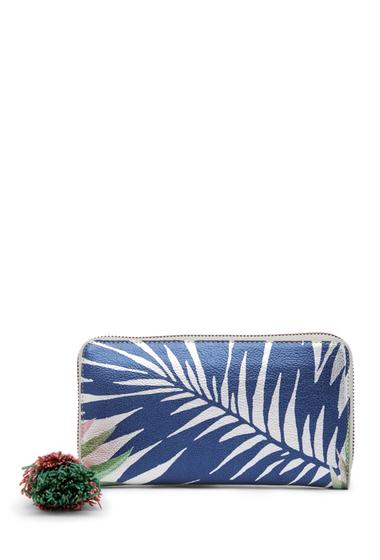 Genti Femei Deux Lux Antigua Zip Wallet SILVER