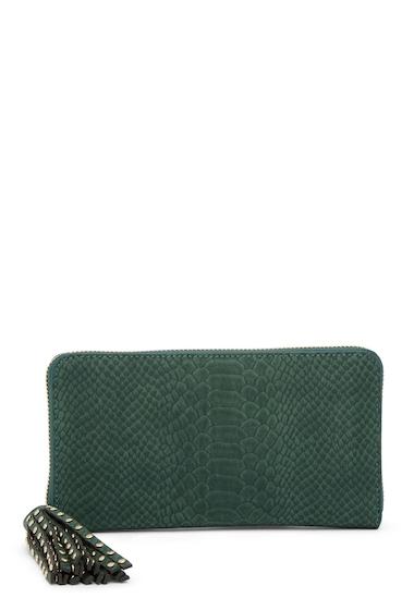 Genti Femei Deux Lux Juniper Zip Wallet HUNTER