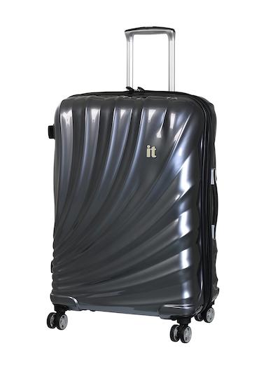 Genti Femei IT Luggage 276 Pagoda 8 Wheel with Expander SLATE GREY W BLACK TRIM