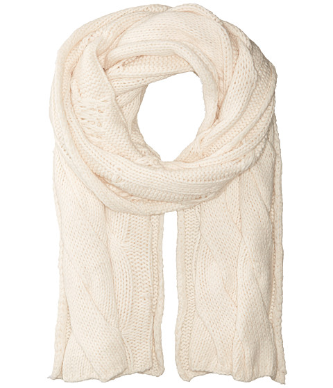 Accesorii Femei Polo Ralph Lauren Exploded Rope Cable Scarf Antique Cream