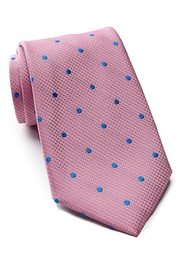Accesorii Barbati Tommy Hilfiger Silk Contrast Dot XL Tie PINK