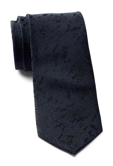 Accesorii Barbati Calvin Klein Watercolor Solid Silk Tie BLACK