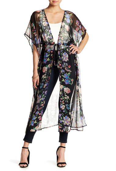 Accesorii Femei Free Press Floral Stripe Duster BLACK COMBO