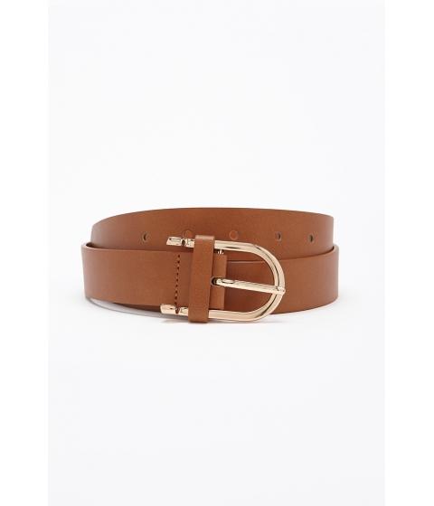 Accesorii Femei Forever21 Faux Leather Hip Belt CAMEL