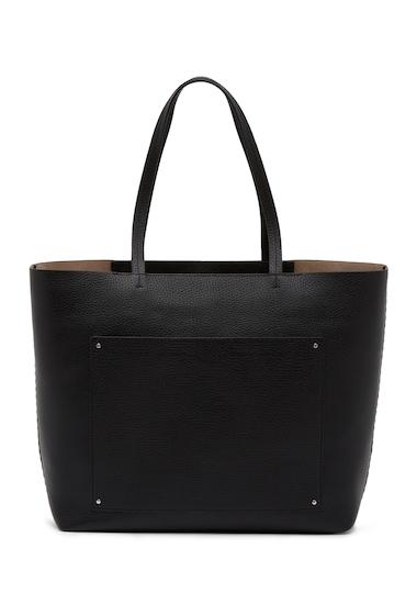 Genti Femei Rebecca Minkoff Panama Leather Tote BLACK