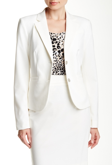 Imbracaminte Femei Modern American Designer Two Button Short Jacket CREAM