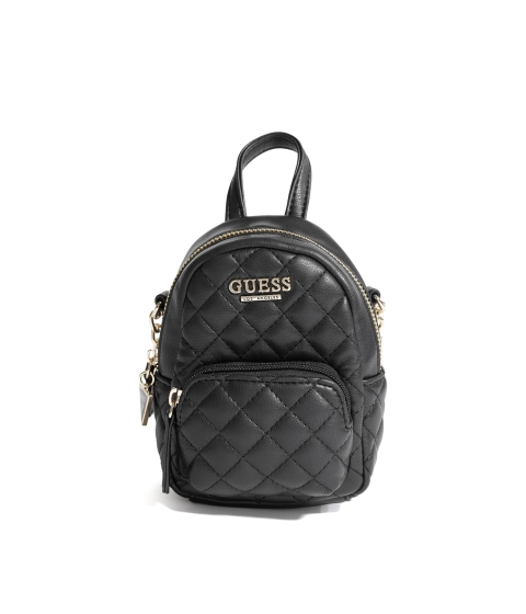 Genti Femei GUESS Evan Mini Crossbody black