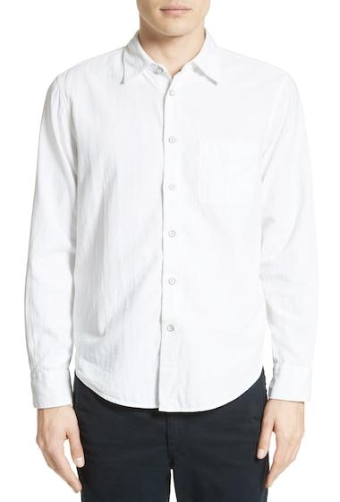Imbracaminte Barbati Rag Bone Standard Issue Solid Trim Fit Sport Shirt WHITE