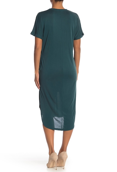Imbracaminte Femei Lush Solid T-Shirt Dress DEEP GREEN