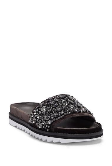 Incaltaminte Femei Joie Jacory Crystal Embellished Slide Sandal COAL