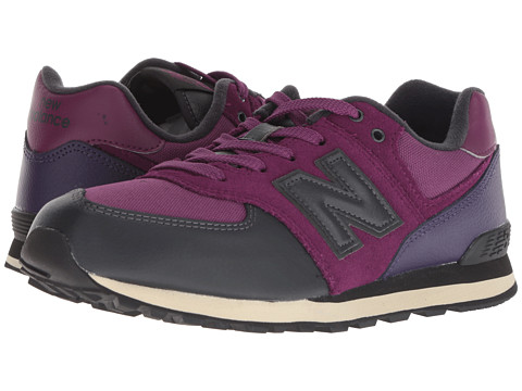 Incaltaminte Fete New Balance Kids GC574v1 (Big Kid) ClaretBlack Violet