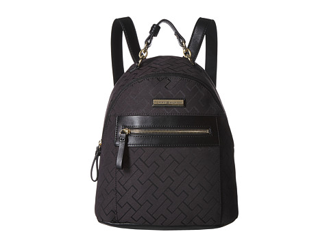 Genti Femei Tommy Hilfiger Claudia Dome Backpack Black Tonal