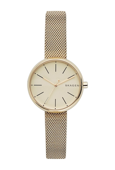 Ceasuri Femei Skagen Womens Signature Mesh Bracelet Watch 30mm NO COLOR