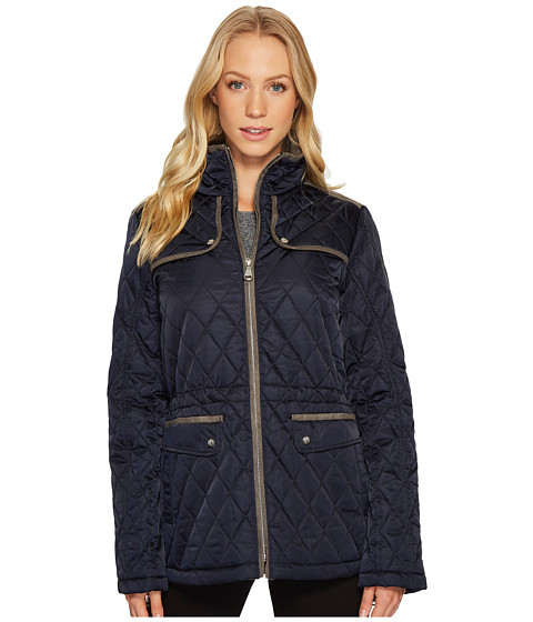 Imbracaminte Femei Vince Camuto Quilted Jacket with Faux Suede Contrast Detail N8841 Navy