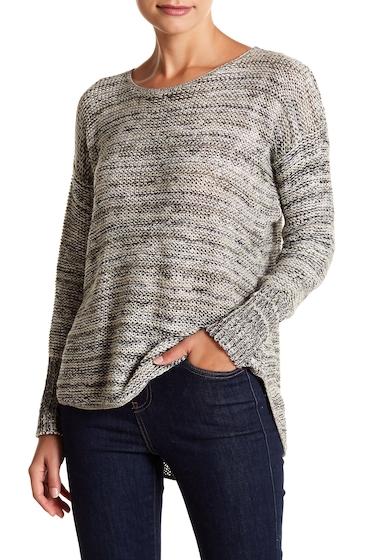 Imbracaminte Femei SUSINA Twist Shirt Tail Pullover Sweater Regular Petite GREY EBONY MARL