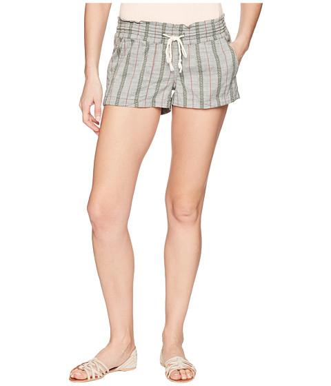 Imbracaminte Femei Roxy Oceanside Shorts Yarn-Dye Thyme South Border