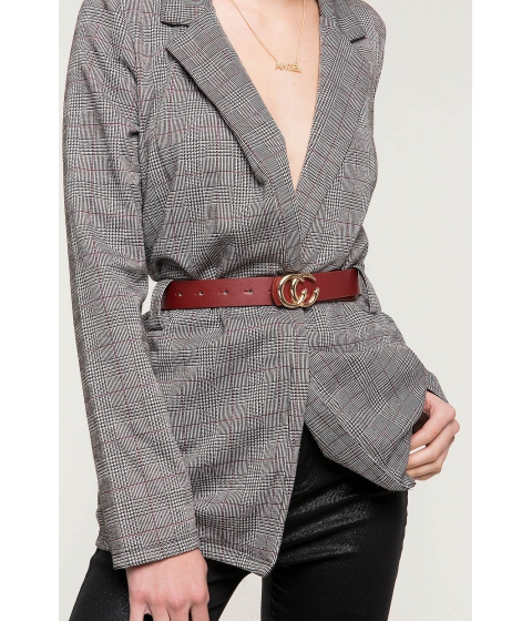 Accesorii Femei CheapChic C The Dream Jean Belt WineBurgundy