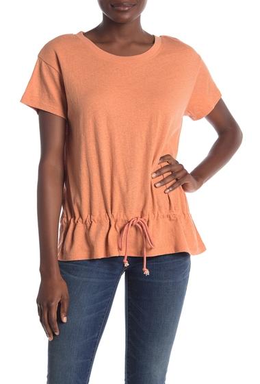 Imbracaminte Femei Madewell Drawstring T-Shirt ANTIQUE CORAL