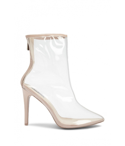Incaltaminte Femei Forever21 Clear Pointed Toe Booties NUDE
