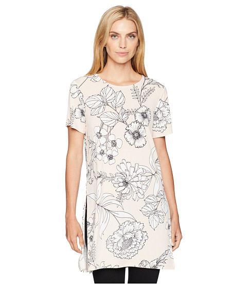 Imbracaminte Femei Calvin Klein Short Sleeve Long Tunic Blush Combo