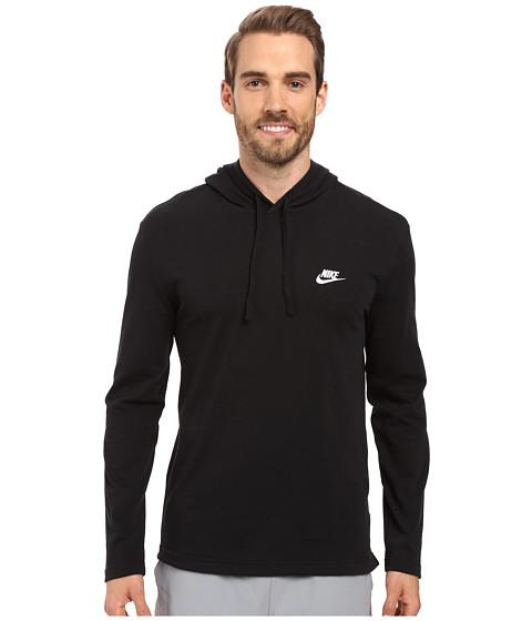 Imbracaminte Barbati Nike Club Jersey Pullover Hoodie BlackWhite