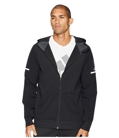 Imbracaminte Barbati adidas Squad Full Zip Hoodie BlackBlack