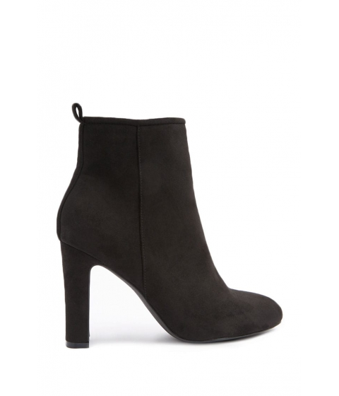 Incaltaminte Femei Forever21 Faux Suede Ankle Boots BLACK