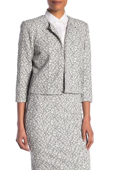 Imbracaminte Femei Philosophy Apparel 34 Sleeve Jacket IVORY FLOR