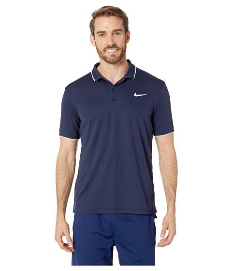 Imbracaminte Barbati Nike NikeCourt Dry Polo Team ObsidianWhiteObsidian