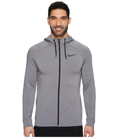 Imbracaminte Barbati Nike Dri-FIT Full-Zip Training Hoodie GunsmokeBlackVast GreyBlack