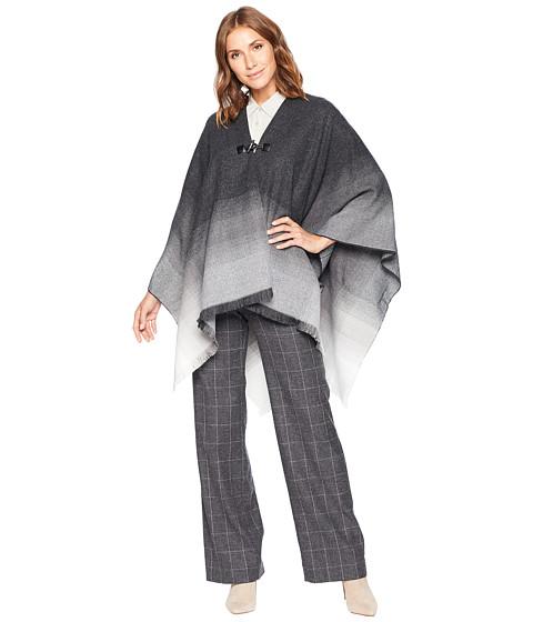 Imbracaminte Femei Calvin Klein Ombre Border Woven Ruana Heathered Mid Grey