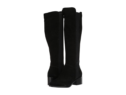 Incaltaminte Femei Steve Madden Giselle To the Knee Boot Black Suede