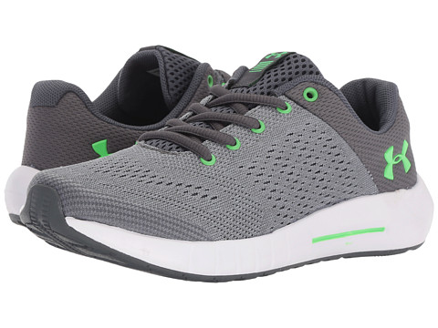 Incaltaminte Baieti Under Armour UA BPS Pursuit (Little Kid) SteelWhiteArena Green