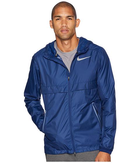 Imbracaminte Barbati Nike Shield Jacket Hood Blue Void